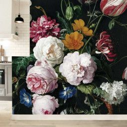 KEK Amsterdam Golden Age Flowers II behang