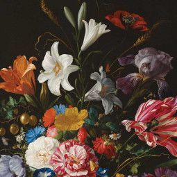 KEK Amsterdam Golden Age Flowers V behang