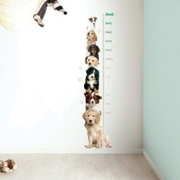 KEK Amsterdam Puppy Growth Chart muursticker