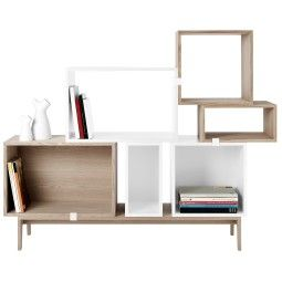 Muuto Stacked 6 kast op podium