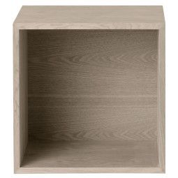 Muuto Outlet - Stacked kast met backboard medium ash