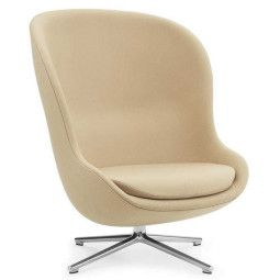 Normann Copenhagen Hyg High Swivel fauteuil