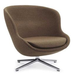 Normann Copenhagen Hyg Low Swivel fauteuil