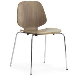 Normann Copenhagen My chair stoel chroom