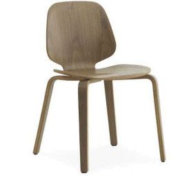 Normann Copenhagen My chair stoel hout