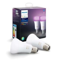 Philips Hue Philips Hue lichtbron E27 Bluetooth- white/color - 2-pack