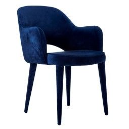 Pols Potten Chair Arms Cosy stoel blauw