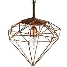 Pols Potten Diamond hanglamp small koper