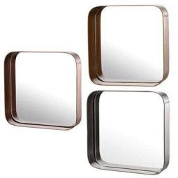 Pols Potten Metal Edge Squares set van 3