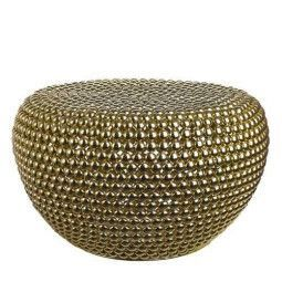 Pols Potten Outlet - Dot Stool Brass Low