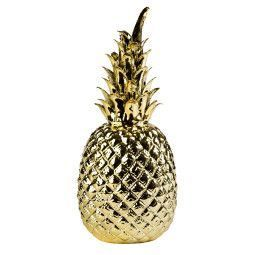 Pols Potten Pineapple Gold woondecoratie