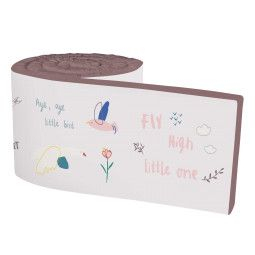 Sebra Singing Birds bedbumper
