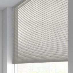 Sunway Duette® Shade - half-transparant - white sand 6146