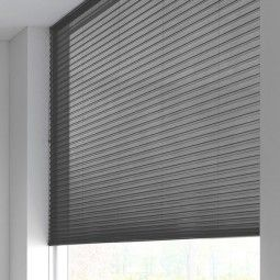 Sunway Duette® Shade - transparant - graphite grey 6176
