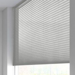 Sunway Duette® Shade - lichtdicht - silver plate 6183