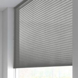 Sunway Duette® Shade - transparant - signal grey 6184