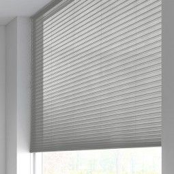 Sunway Duette® Shade - transparant - silver plate 6192