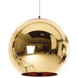 Tom Dixon Copper Bronze hanglamp 45cm