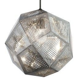 Tom Dixon Etch hanglamp staal
