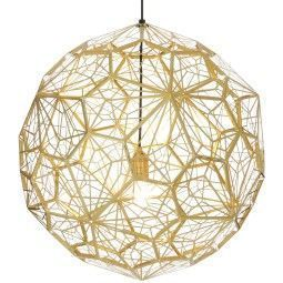 Tom Dixon Etch Web Brass hanglamp