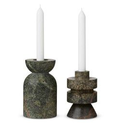 Tom Dixon Rock Candle medium kandelaar