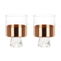 Tom Dixon Tank Low Ball glas set van 2 koper