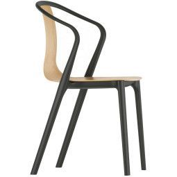 Vitra Outlet - Belleville Armchair Wood stoel naturel eiken