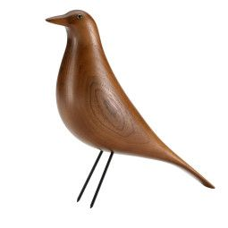 Vitra Eames House Bird woondecoratie walnoot
