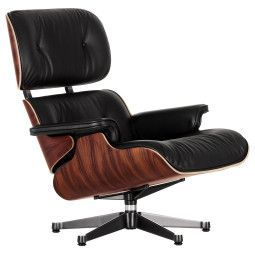 Vitra Eames Lounge chair fauteuil Santos Palisander (nwe afmeting)