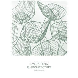 Vitra Eames Quote poster Architecture
