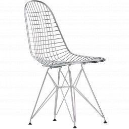Vitra Eames Wire Chair DKR stoel (oude zithoogte)