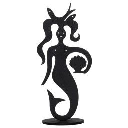 Vitra Mermaid Silhouette woondecoratie