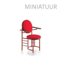 Vitra Johnson Wax Chair miniatuur