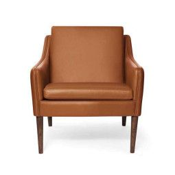Warm Nordic Mr. Olsen lounge chair gerookt eiken