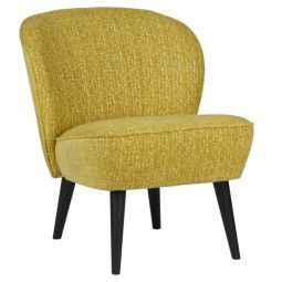 WOOOD Outlet - Suze fauteuil oker