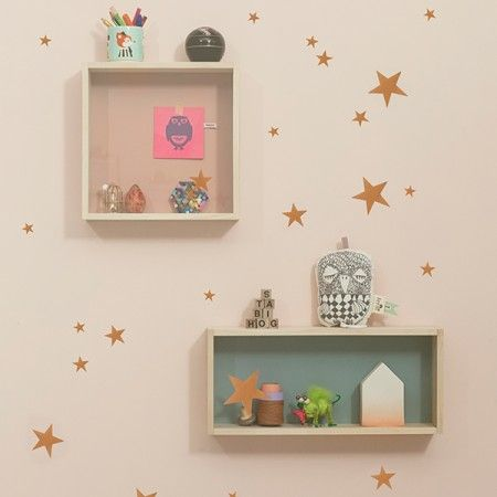 Ferm Living Mini Stars muursticker
