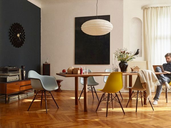 Vitra Sunflower klok Black Collection