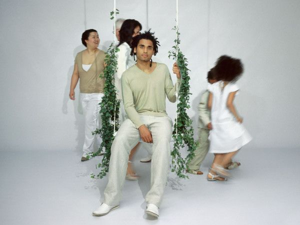 Droog Swing With The Plants schommel