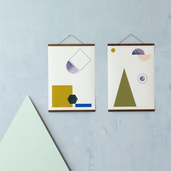 Ferm Living Geometry 3 poster