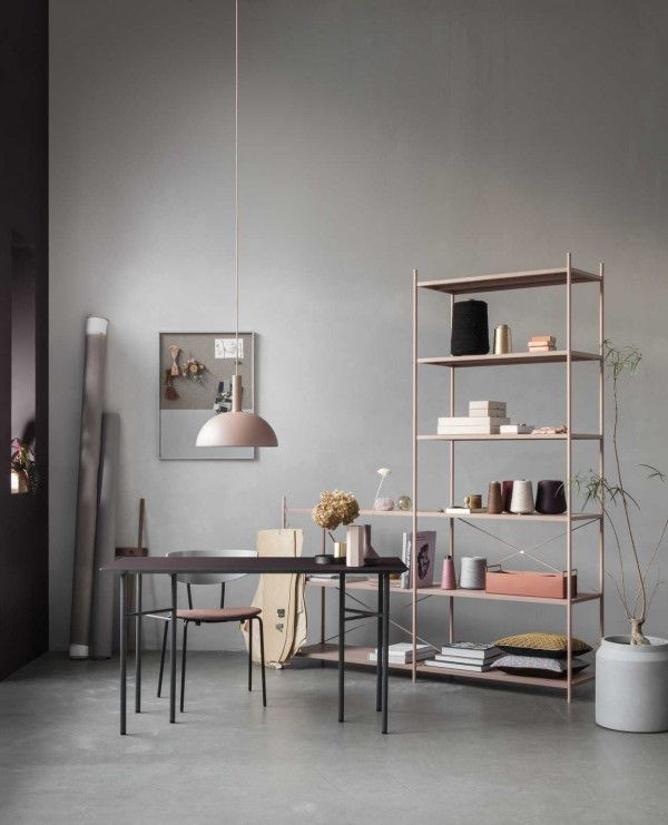 Ferm Living Dome Rose hanglamp