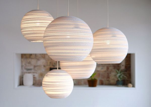 Graypants Moon 10 White hanglamp