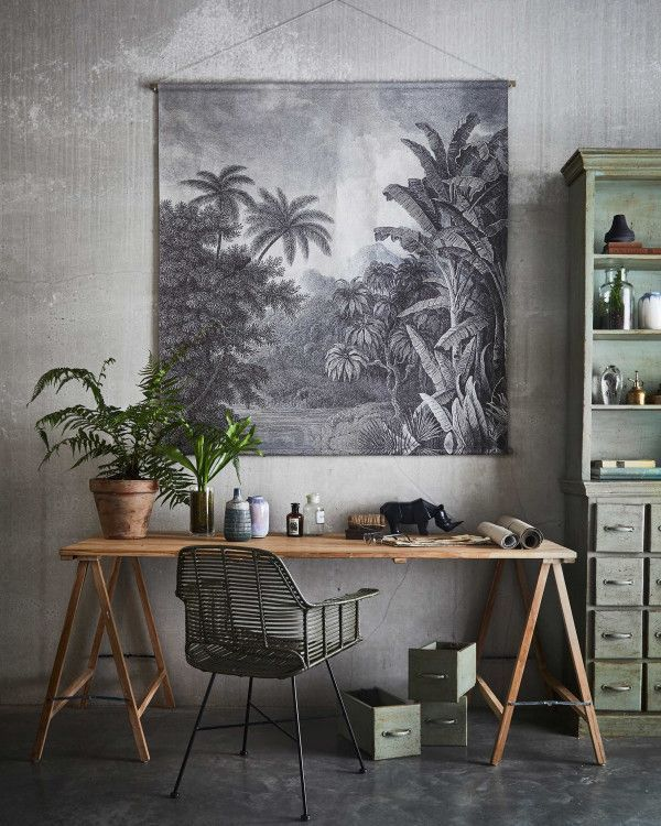 HKliving Jungle wanddecoratie XXL