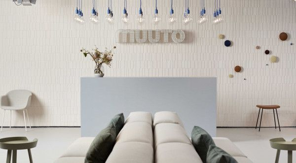 Muuto The Dots Metal haak set van 5