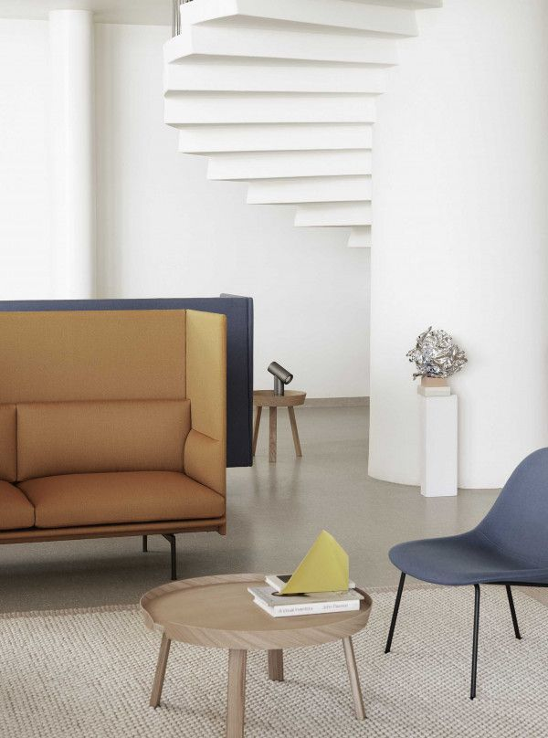 Muuto Outline Highback bank 3-zits