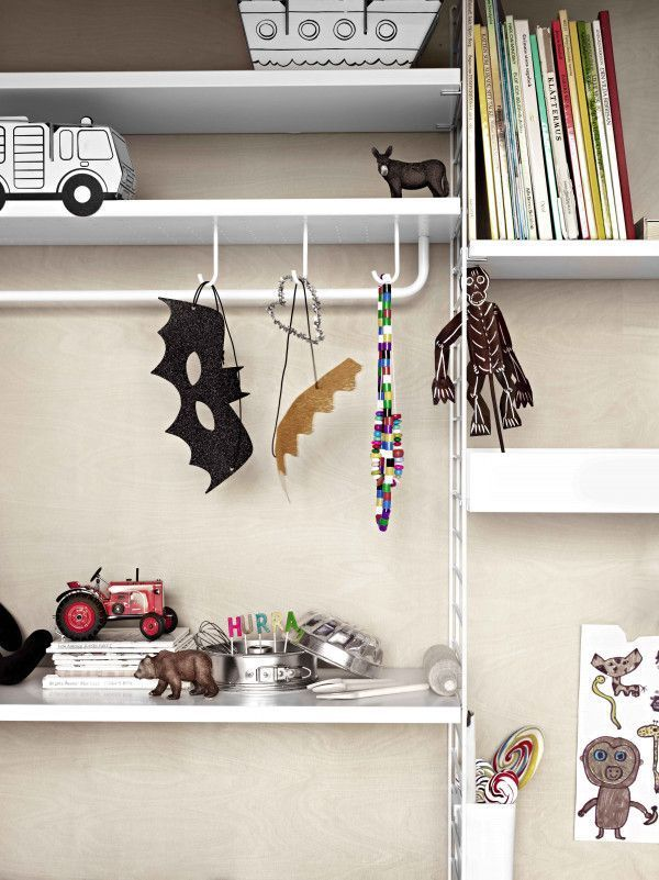 String Metal shelf high edge 78x30 1-pack