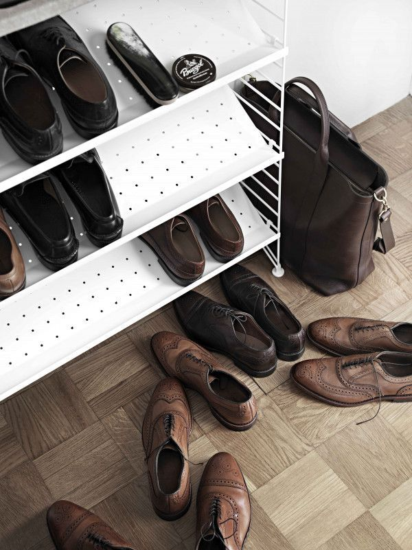 String Shoe shelf metal 58x30 1-pack