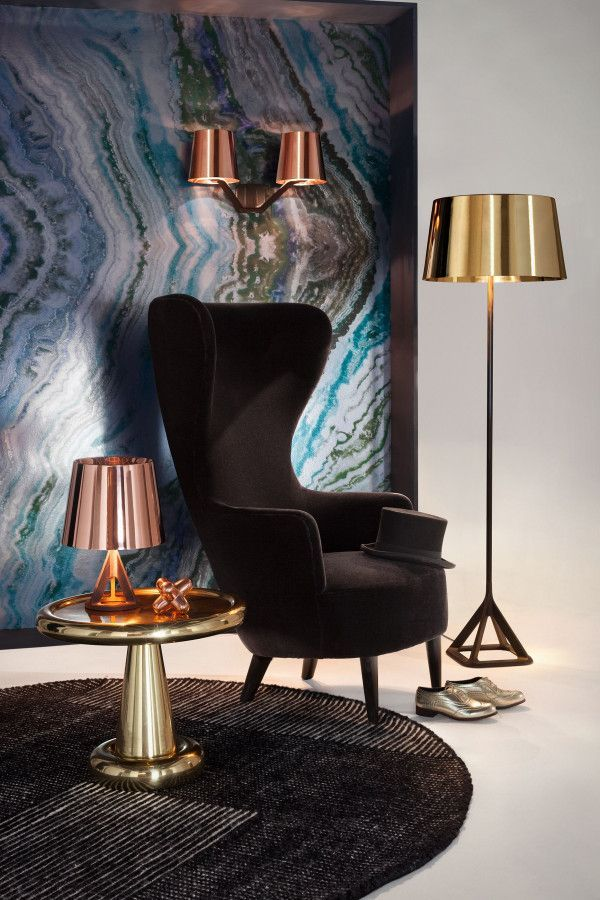 Tom Dixon Base tafellamp