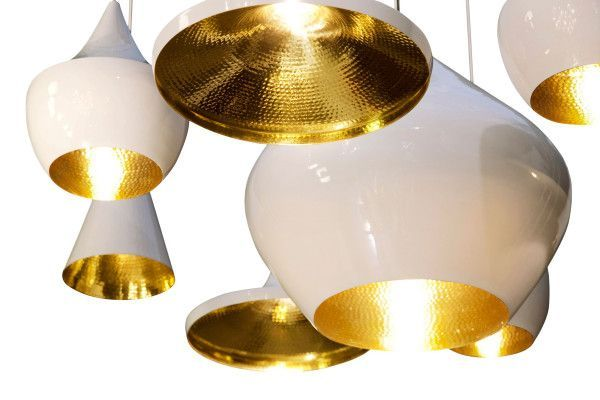 Tom Dixon Beat Light Fat hanglamp wit