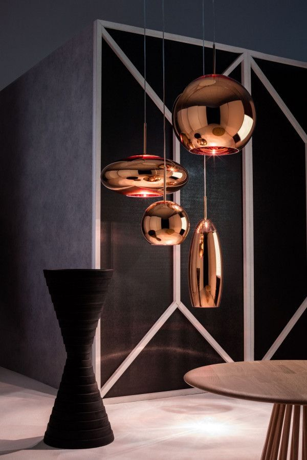 Tom Dixon Copper Round 45 hanglamp