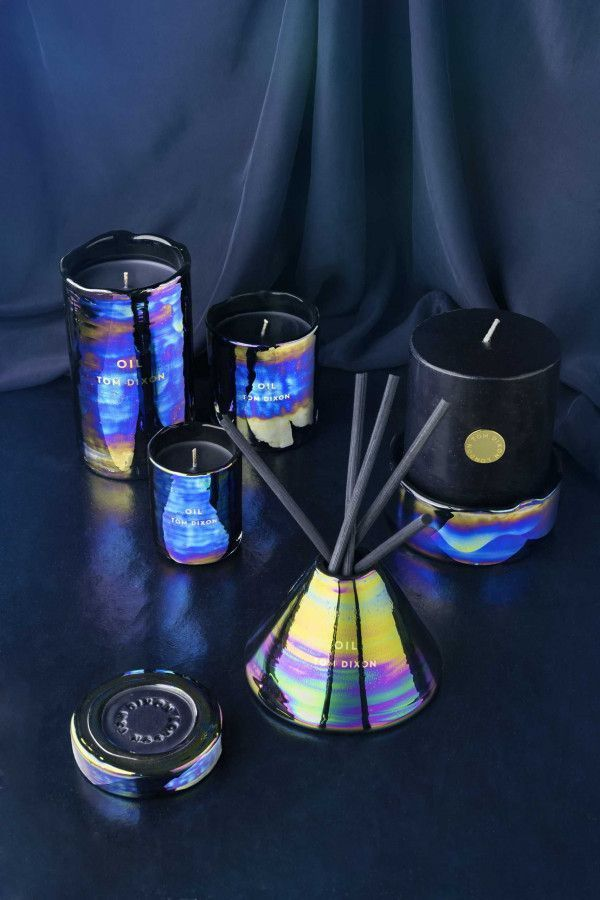 Tom Dixon Oil geurkaars medium